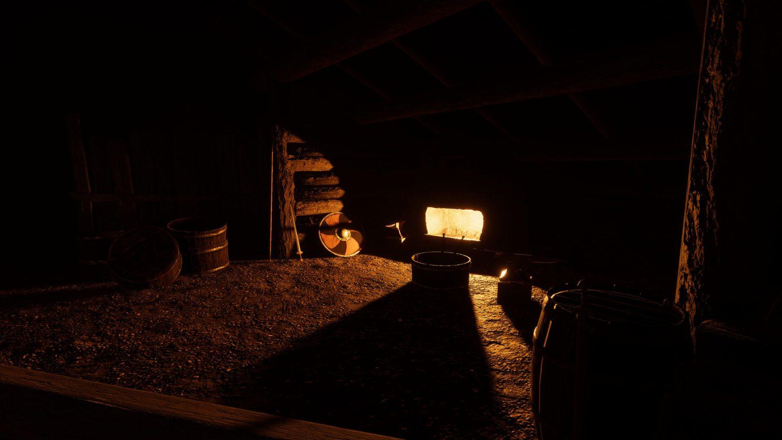 Darkest night at blacksmith